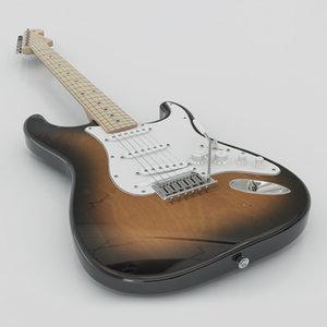 3d model fender vg stratocaster