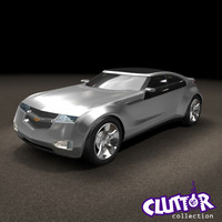 3d model 2008 chevy volt concept