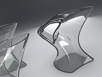 3ds max glass colored water jug