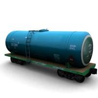 railroad cistern 3d model
