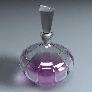 perfume cologne bottle 3d max