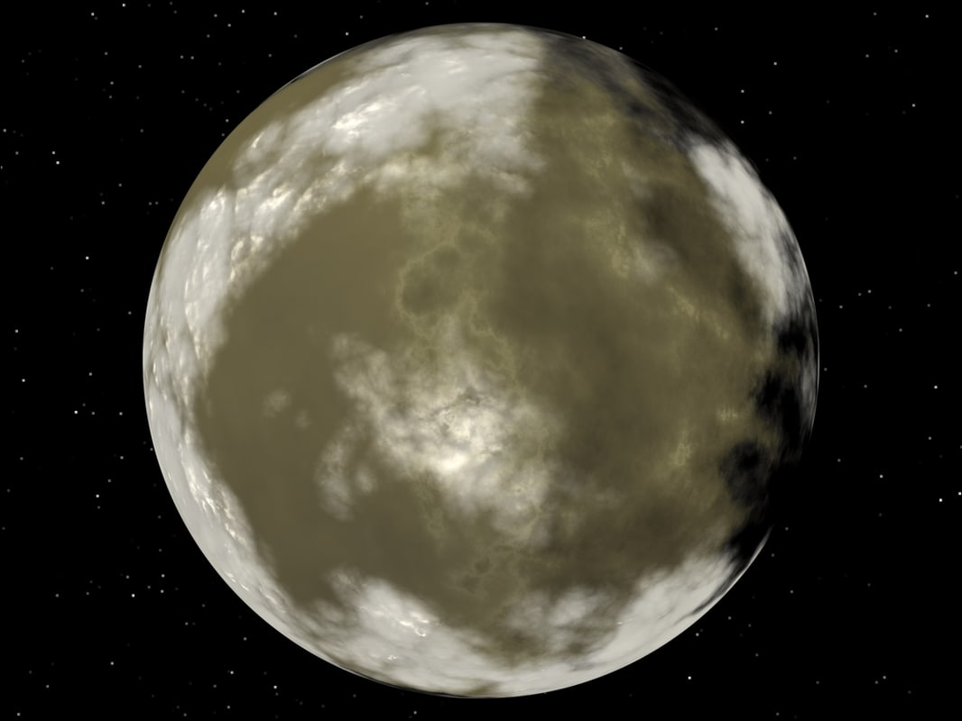planet real 3d max