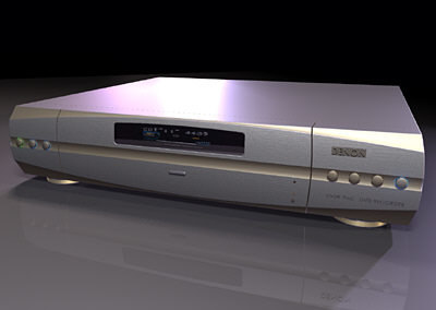 3d model dvd cd player versions