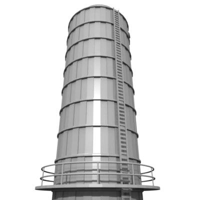 industrial element d 3d 3ds