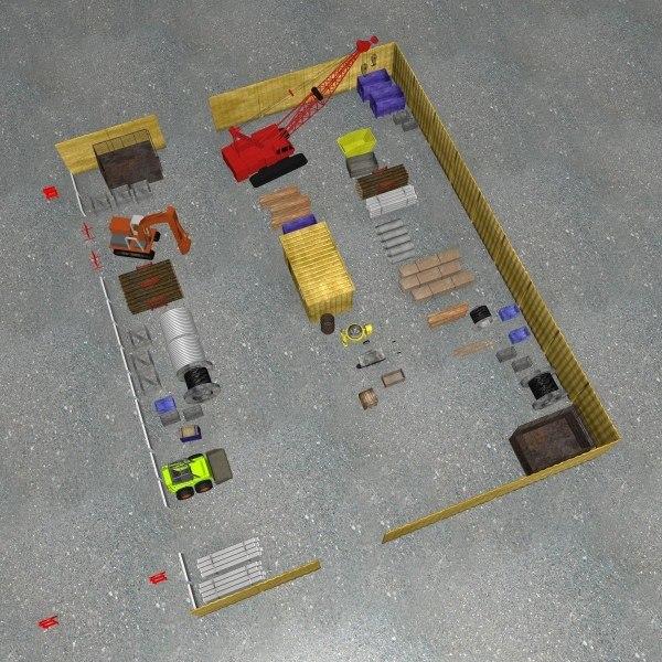 building site dxf