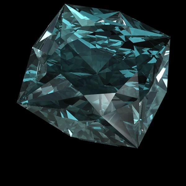 gem gemstones 3d 3ds