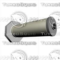 free tube motor 3d model