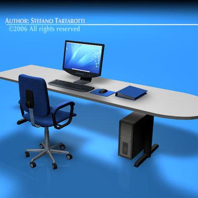 obj office desk