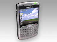 blackberry curve 3d max