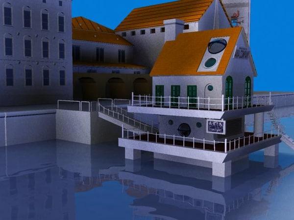 aria buildings 3d