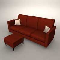 couch chaise 3ds free