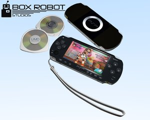 sony psp console blend