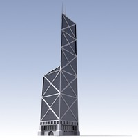 3d bank china skyscraper