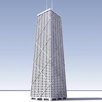 3D John Hancock Center.zip