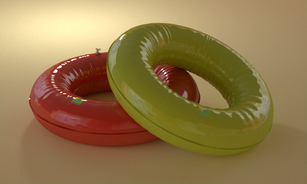3ds max rubber ring