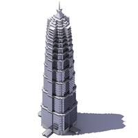 3D Jin Mao Tower.zip