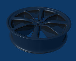 free rim 3d model