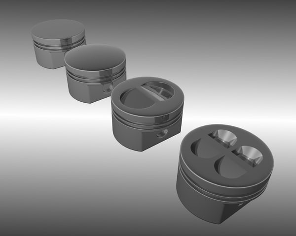 pistons dome flat blend free