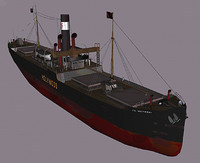 3d ship ss holywood