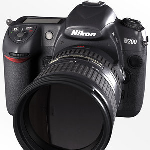 3dsmax nikon d200 camera