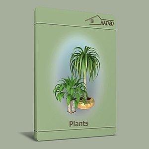 3d max plants