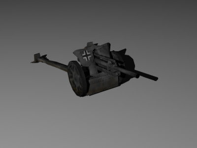 lightwave lefh18 german artillery