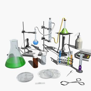 laboratory equipment 3ds