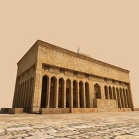 3D arab building 01.zip