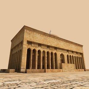 3d arab building model