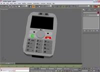 free cellphone 3d model
