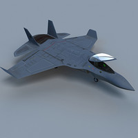 3d model military aircrafts