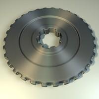 maya gear wheel