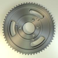 gear wheel13.3ds