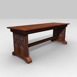 blend medieval table