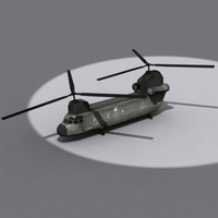 3d chinook ch model