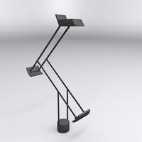 tizio lamp 3d model