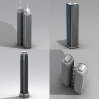 skyscraper iii 3d lwo