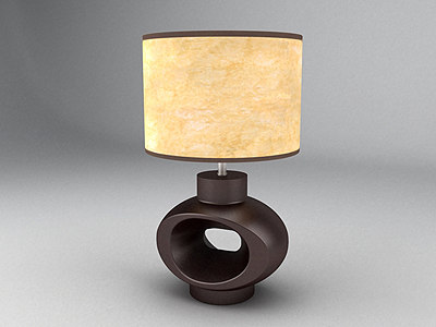 max african luminaire lamp stand