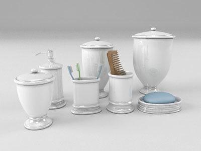 vanity ceramic 3d model