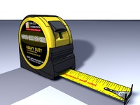 Measuring Tape / Tape Measurer - High Detail