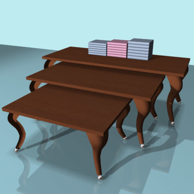 3ds retail nesting tables