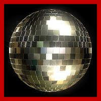 super disco fashion ball 3d model