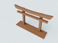 little torii 3d max