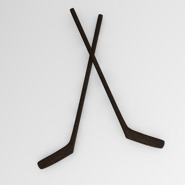 hockey stick 3d model