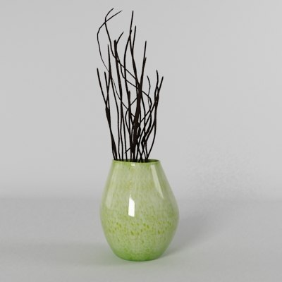 maya green vase