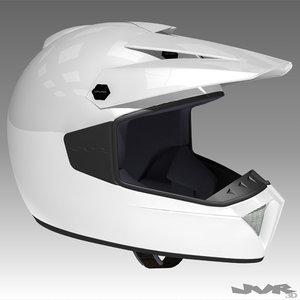 helmet motocross cross 3d model