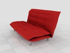 3d model of modern sofa contemporary