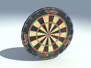 3dsmax dart board