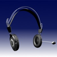 3d model cosonic headphone