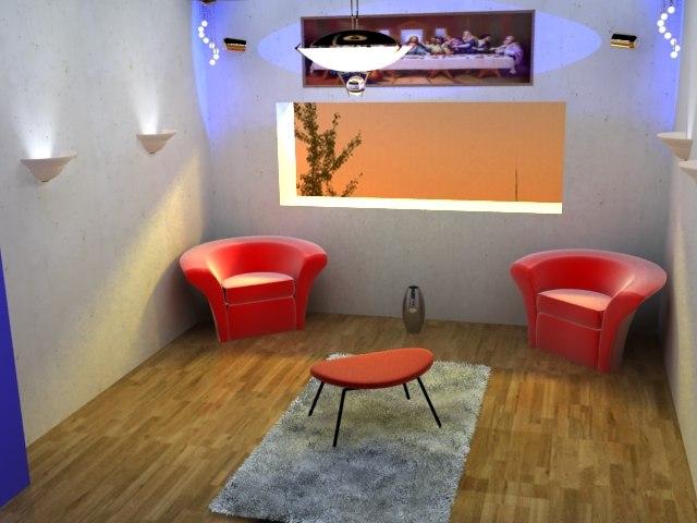 home rooms 3d model